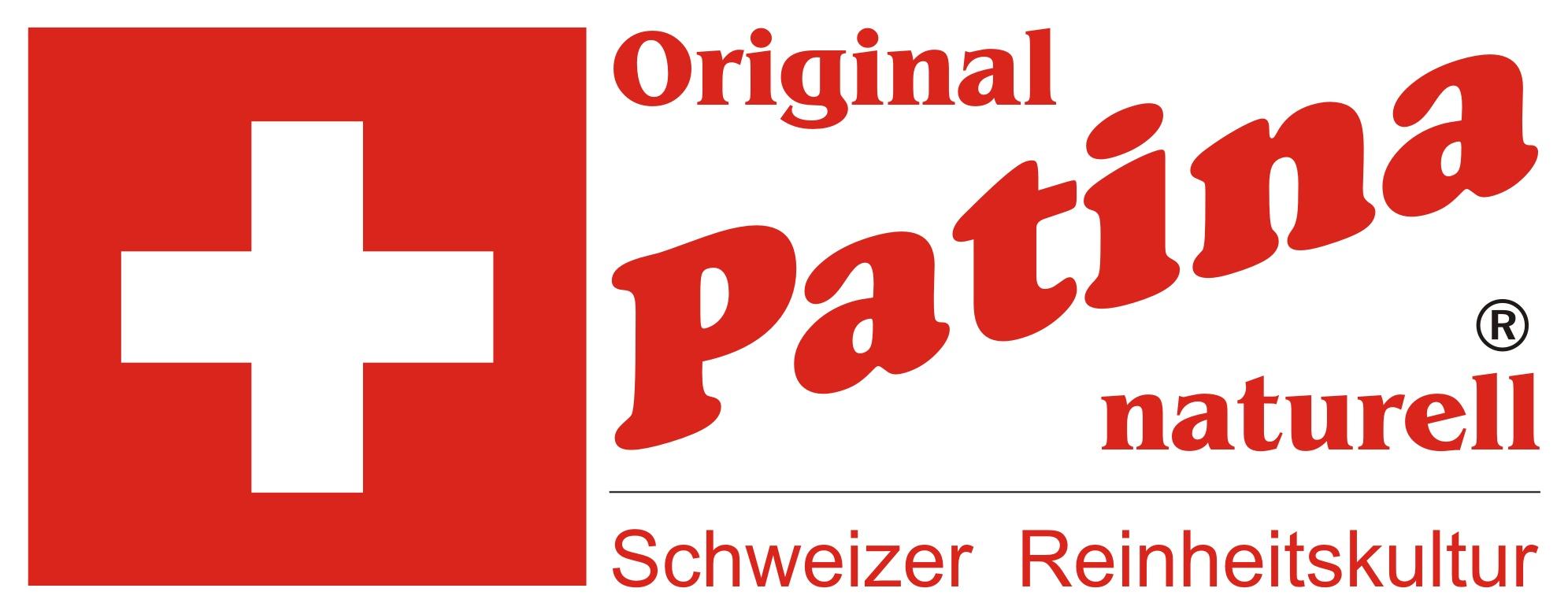 Patina-Naturell - Schweizer Reinheitskultur-Logo